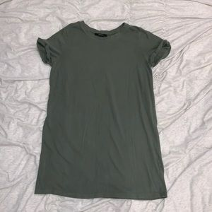 Sage Green T Shirt Dress